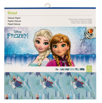 Cricut Disney Deluxe Paper - Frozen Adventure