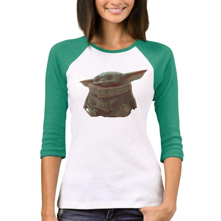 The Child – Star Wars: The Mandalorian Raglan T-Shirt for Women