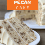 Toasted Butter Pecan Cake