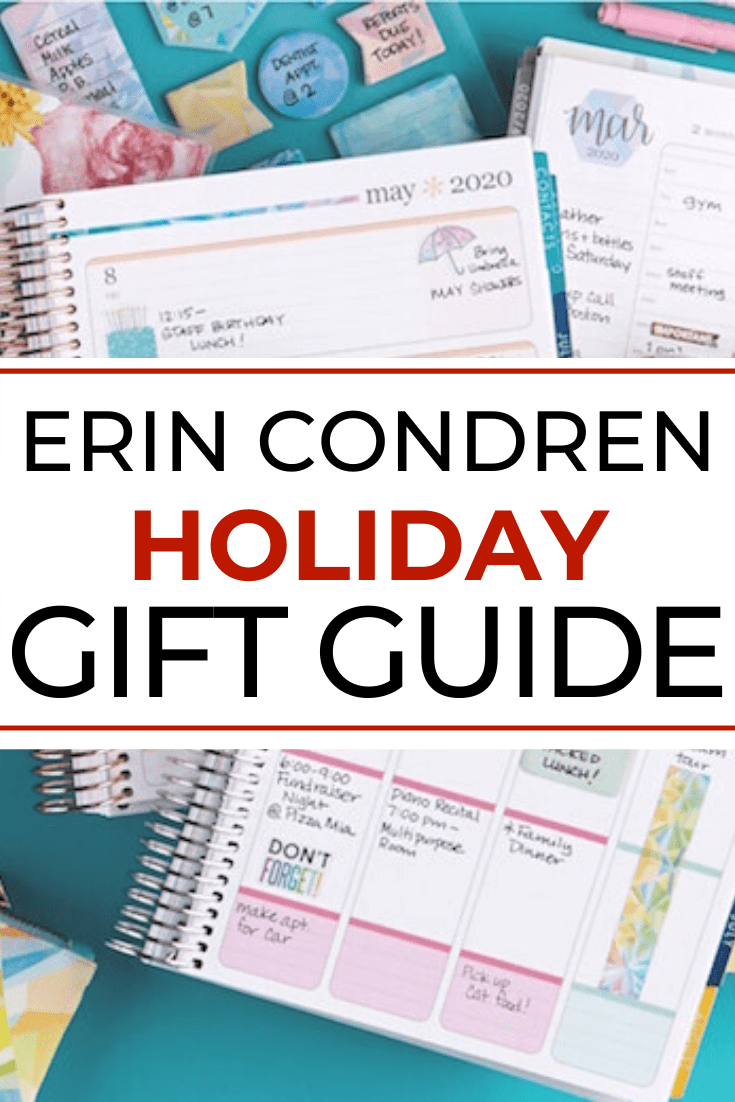 Erin Condren Gift Guide
