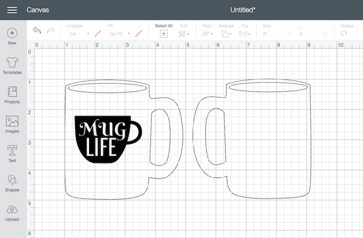 Cricut Mug Life Design Space