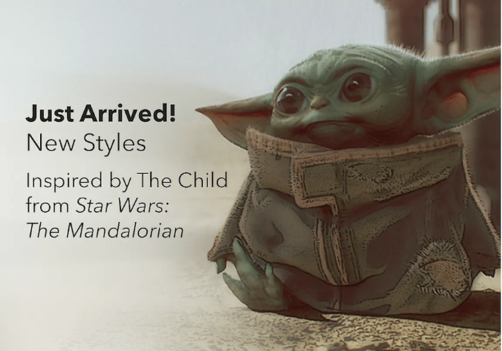 The Mandalorian The Child Baby Yoda Merchandise