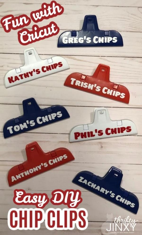 Cricut Chip Clips