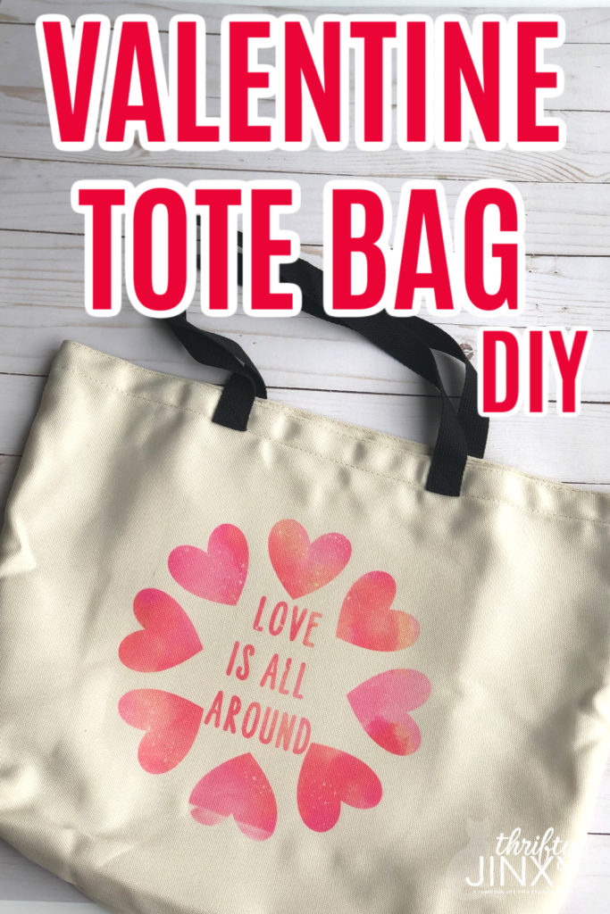 Cricut Valentine Tote Bag with Infusible Ink copy copy