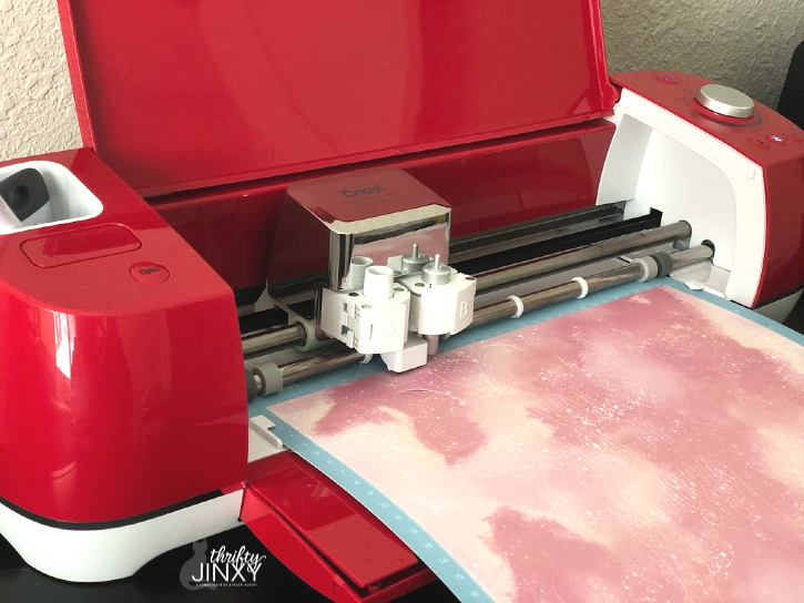Cutting Cricut Infusible Ink Transfer Sheet in Explore Air 2