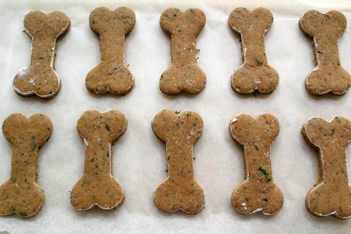 Dog Biscuit recipe process