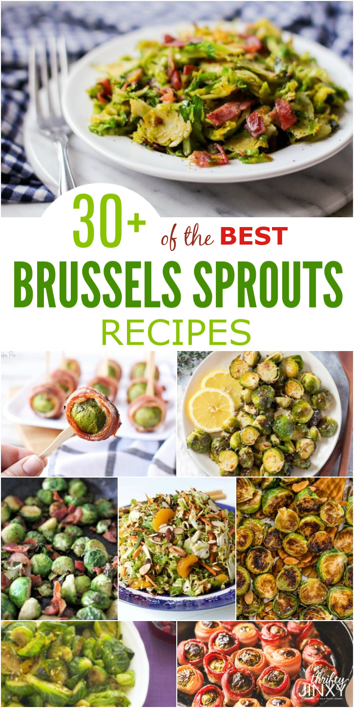 30+ of the BEST Brussels Sprouts Recipes