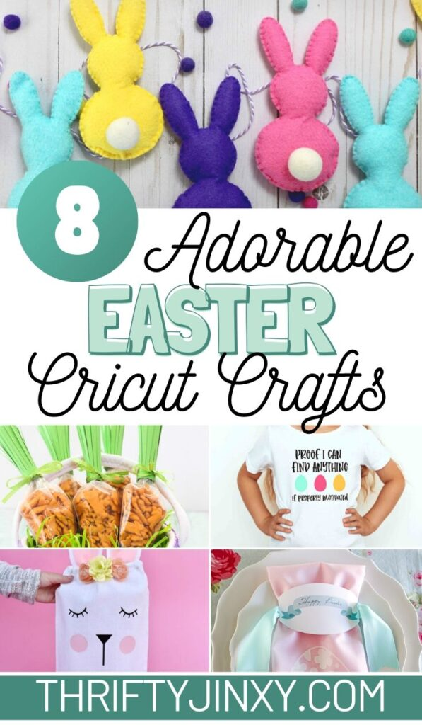 8 Adorable Easter Cricut Projects