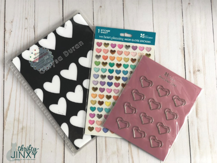 Erin Condren Heart Accessories