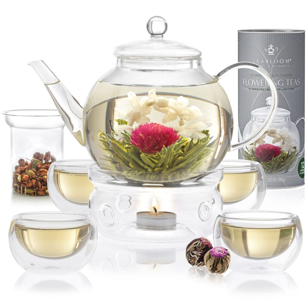 Teabloom CELEBRATION COMPLETE BLOOMING TEA SET