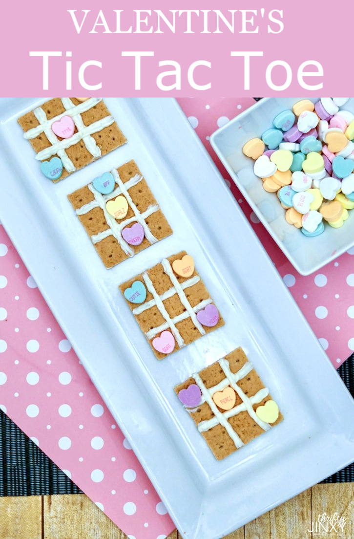 Valentine's Tic Tac Toe Sweet Treat & Game Tutorial