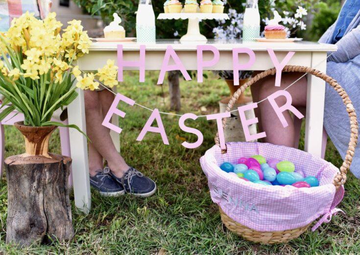 DIY Easter Letter Banner