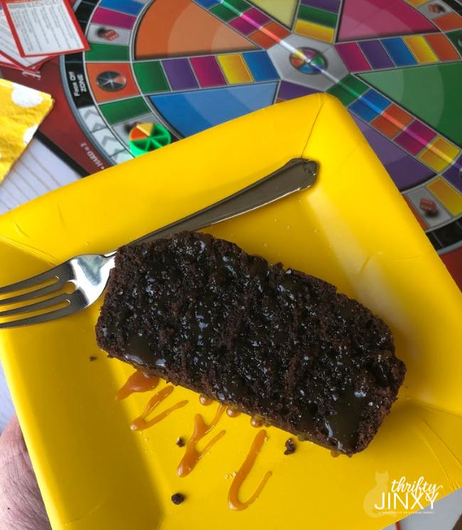 Classy Chocolate Pound Cake with Creamy Caramel Sauce