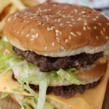 Copycat McDonald's Big Mac Recipe