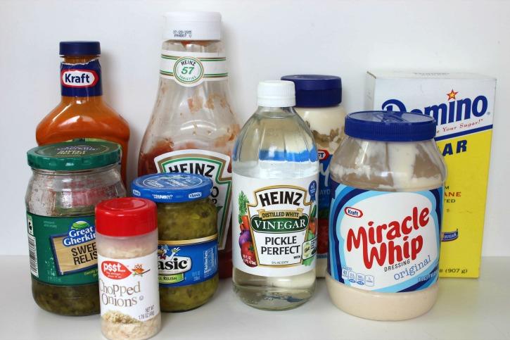 Copycat McDonald's Big Mac sauce ingredients