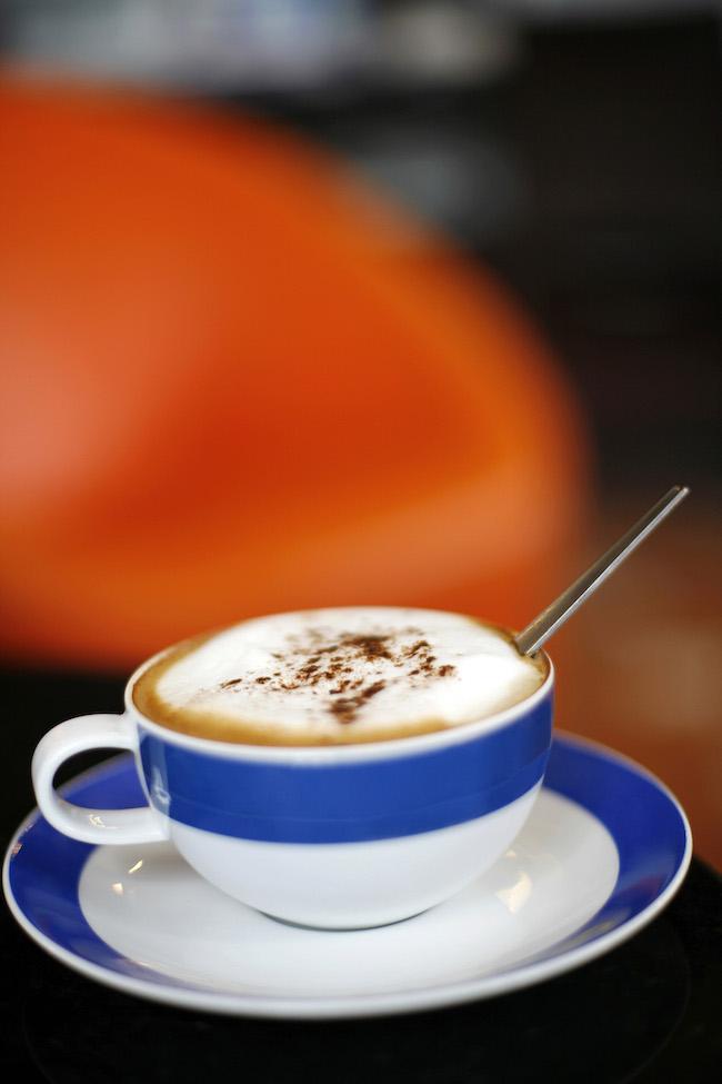 Frappe cappuccino