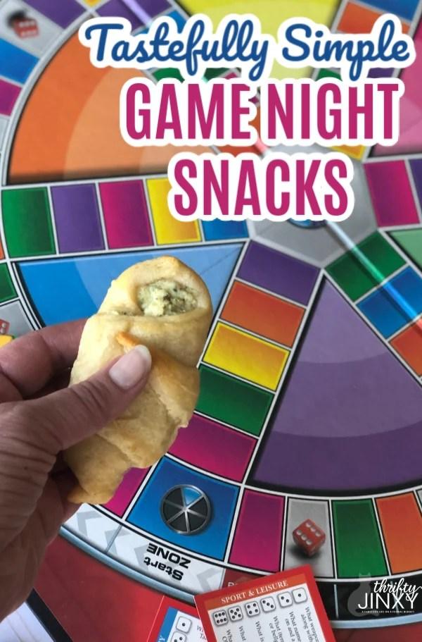 Tastefully Simple Game Night Snacks