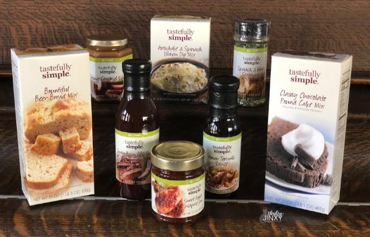 Tastefully Simple Get Together Kit