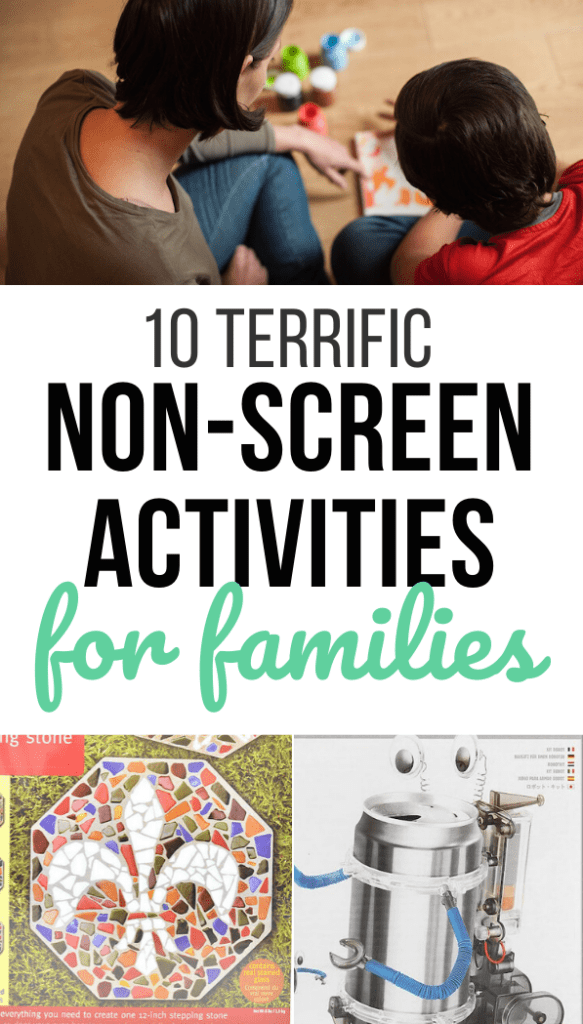 10 Terrific Non-Screen Quarantine Activities for Families