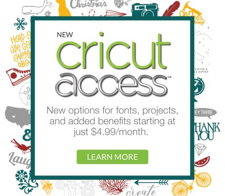 Cricut Access Membership Benefits