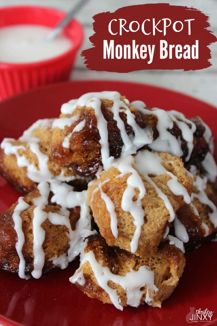 Easy Crockpot Monkey Bread Recipe