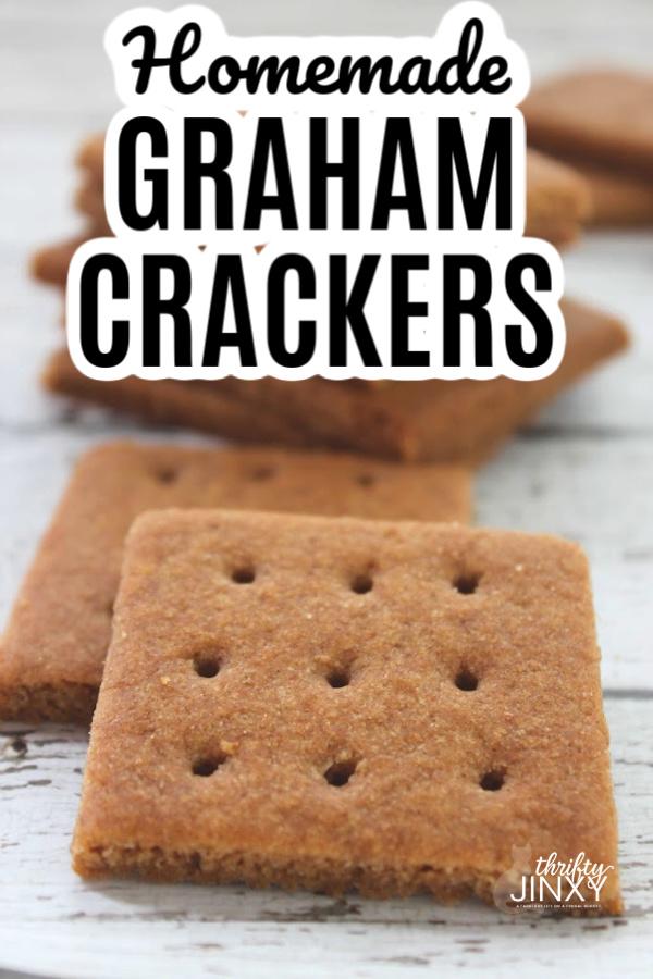 Easy Homemade Graham Crackers Recip