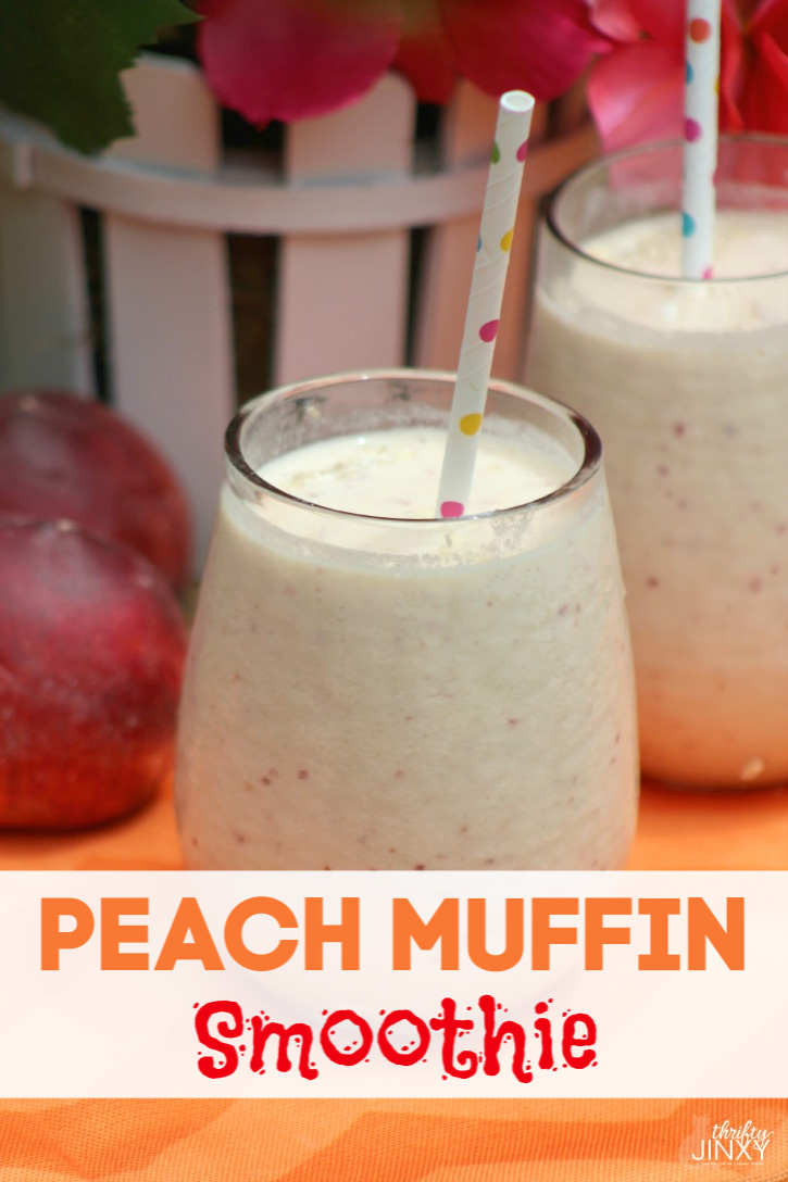Peach Muffin Smoothie Recipe