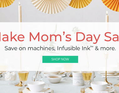 Cricut Mothers Day Sale