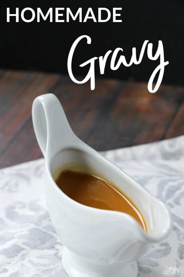 Homemade Gravy Recipe