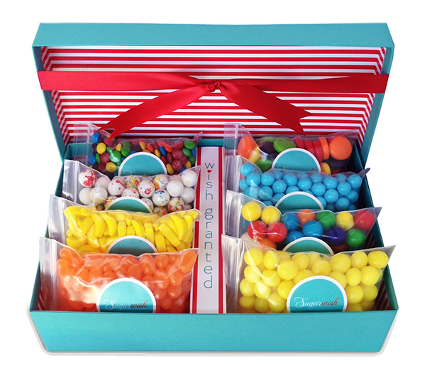 sugarwish candy gift box