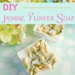 Easy DIY Jasmine Flower Soap to Make at Home