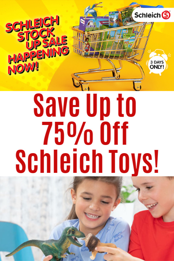Schleich Stock Up Sale