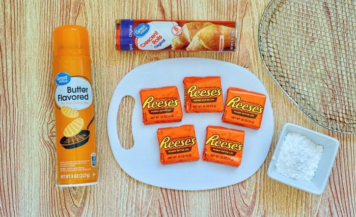 Air Fryer Reese's ingredients needed