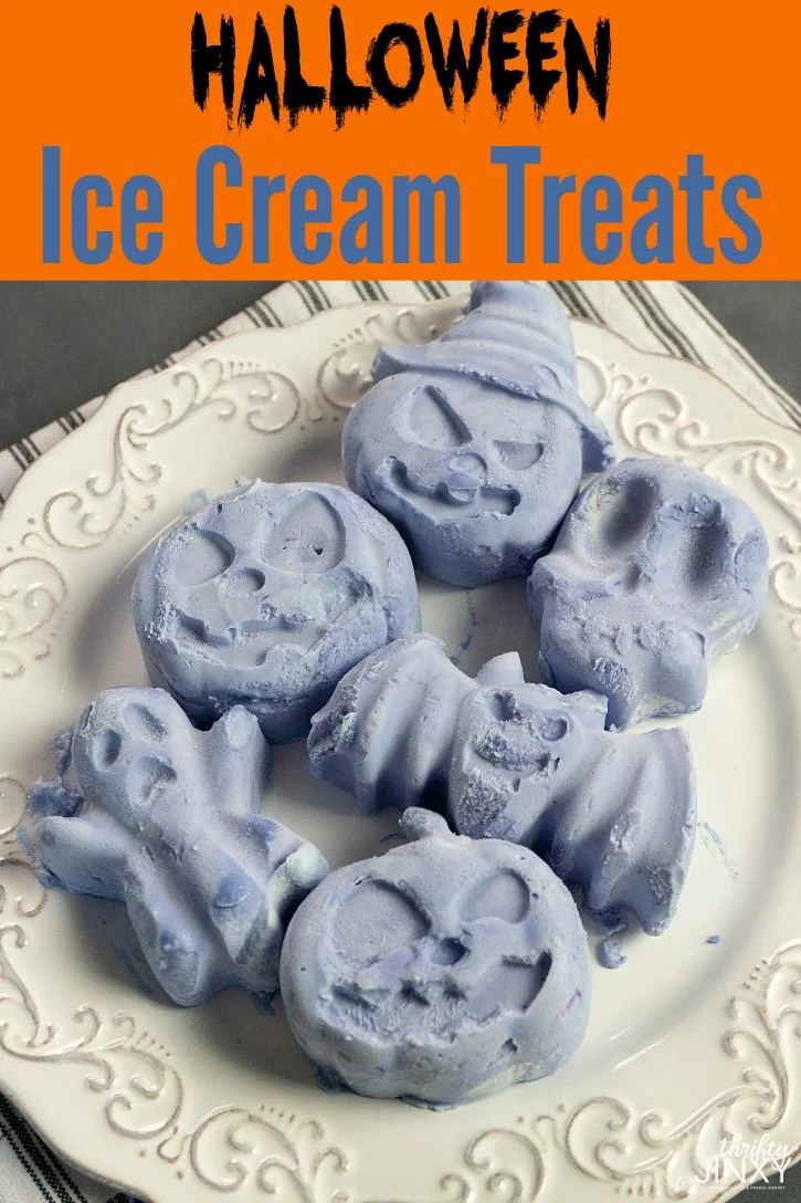 Halloween Ice Cream Treats Recipe