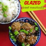 Instant Pot Orange Glazed Meatballs