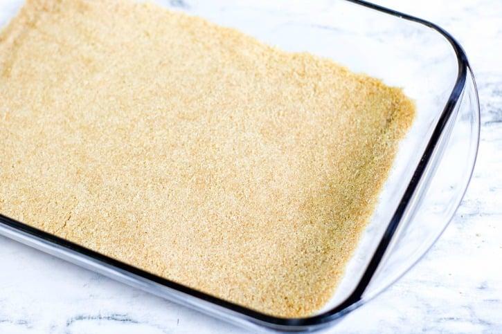 No Bake Banana Split Cake process