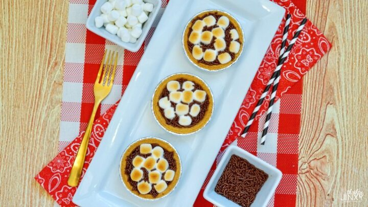 Easy S'mores Pie Recipe | Only 4 Ingredients!