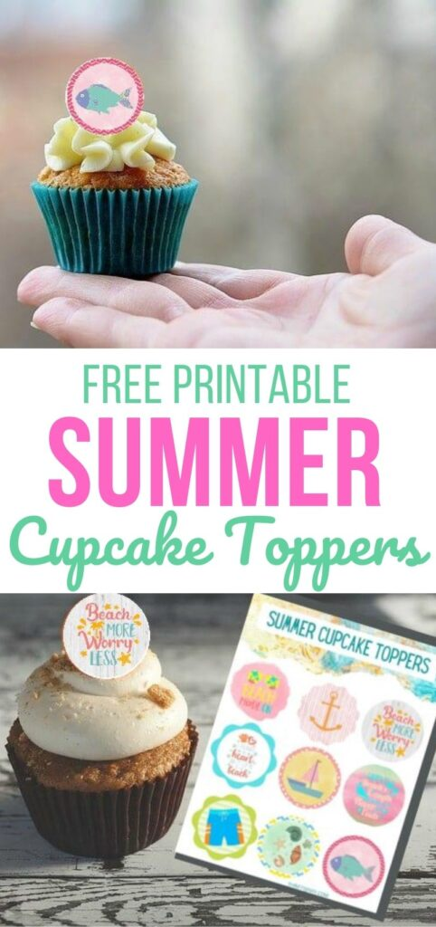 Summer Cupcake Toppers (1)