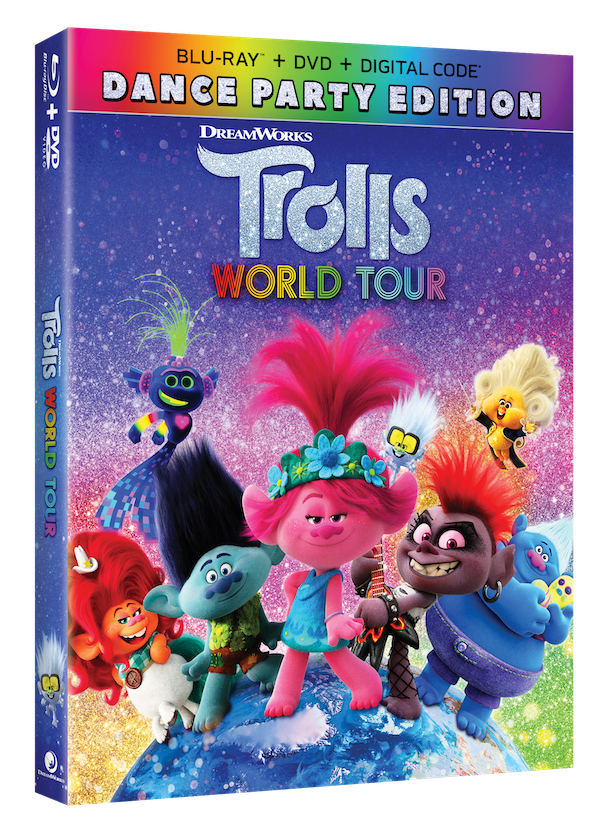 Trolls World Tour Dance Party Edition BluRay
