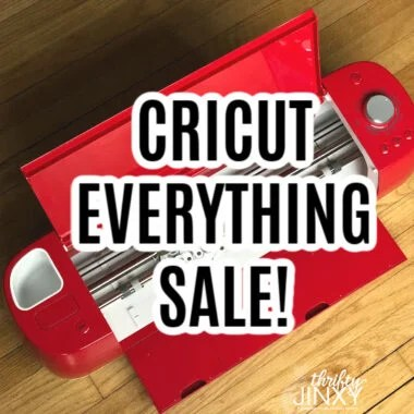 cricut everything sale