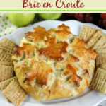 Apple Cranberry Brie en Croute Recipe