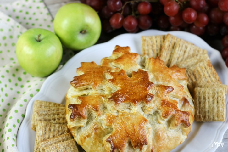 Apple Cranberry Brie en Croute horizontal 2