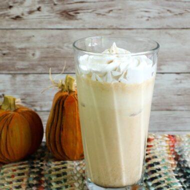 Iced Pumpkin Spice Latte Recipe
