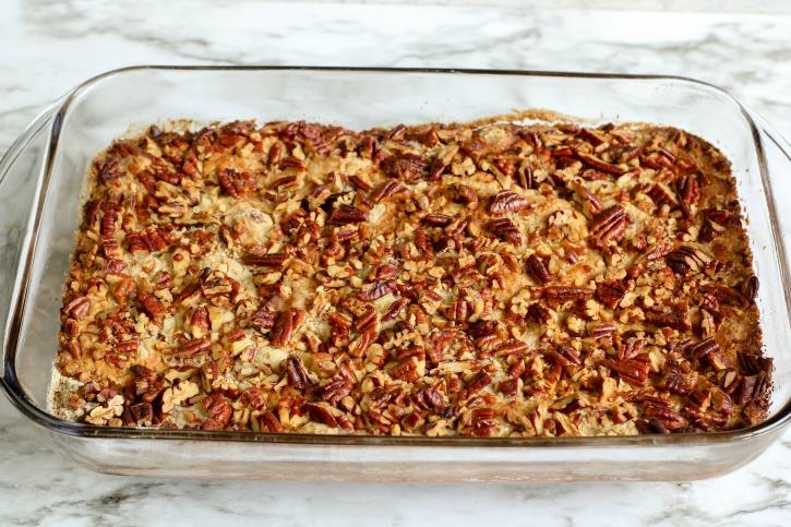 Pumpkin Pecan Crisp process