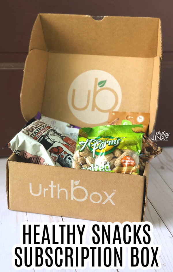 urthbox healthy snacks subscription box