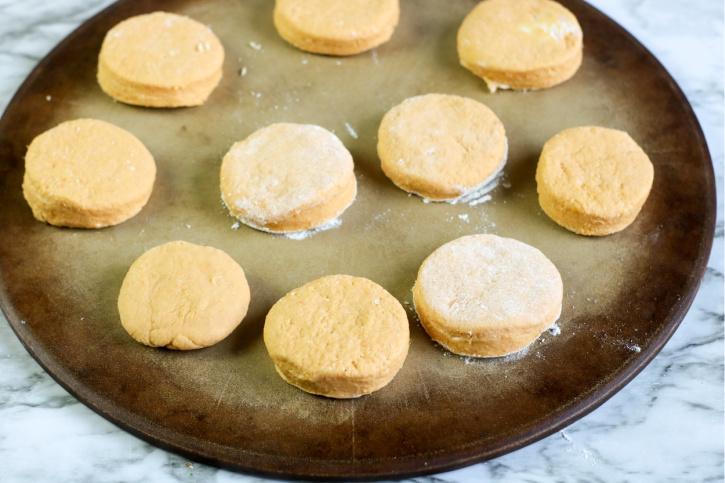Sweet Potato Biscuits Recipe process