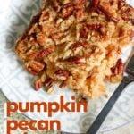pumpkin pecan crisp recipe