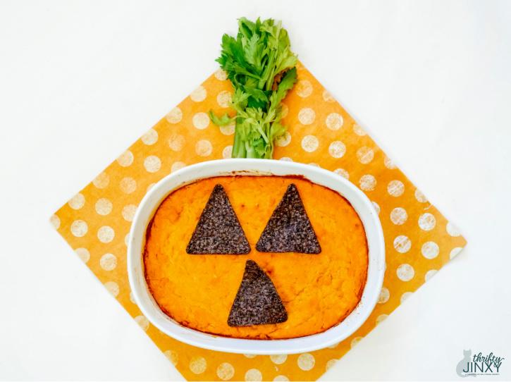 Buffalo Chicken Wing Dip Recipe - Halloween Style!