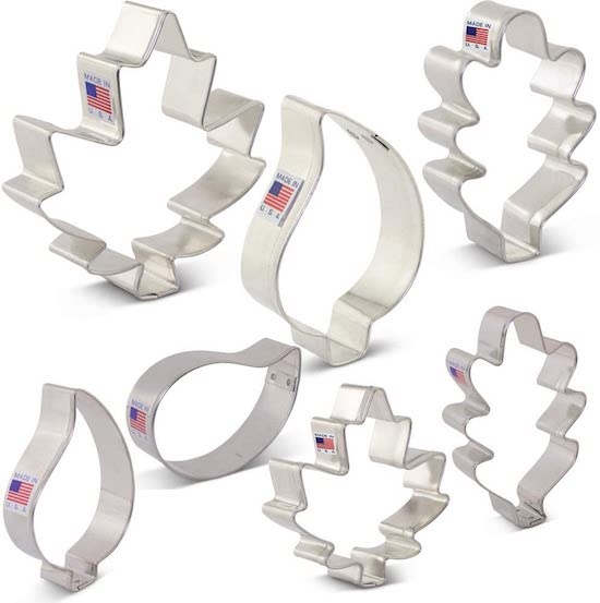 Fall Leaves Cookie Cutters