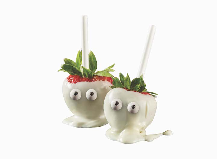 Halloween Ghost White Chocolate Strawberries